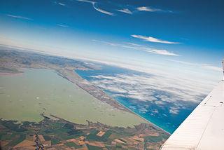 Canterbury Bight bay in New Zealand