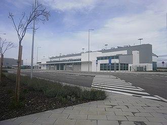 Beja Airport - Image: Aerogare Beja