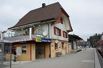 Affoltern im Emmental - Affoltern-Weier rail station