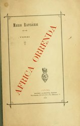 Mario Rapisardi: Africa orrenda