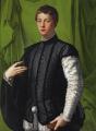 Agnolo di Cosimo, called Bronzino - (c.1551) Portrait of Lodovico Capponi.png