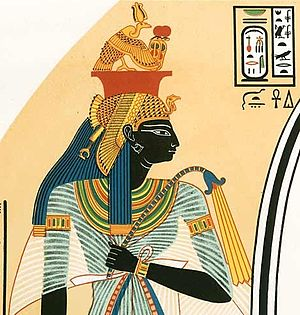 Ahmose-Nefertari - Ahmose Nefertari as depicted in tomb TT359