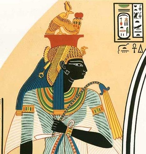 Ahmes Nefertari Grab 10