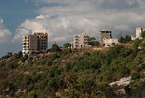 Ainab - Image: Ainab Lebanon Western Slope