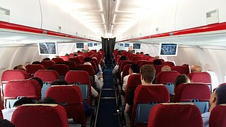 Air Koryo - Interior of an Air Koryo Tupolev Tu-204