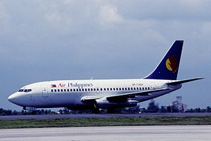 Air Philippines Flight 541 - Image: Air Philippines Boeing 737 200; RP C3012, August 2001 (4844694005)