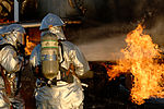 Aircraft Rescue, Firefighting Marines hone techniques 140814-M-BN069-062.jpg