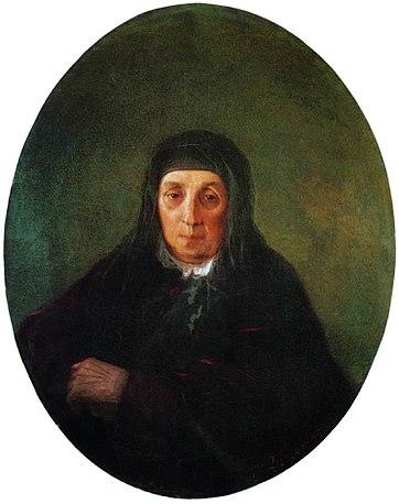 Портрет бабушки Айвазовского Ашхен. И.К.Айвазовский. 1858
