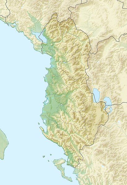 FileAlbania relief location mapjpg Wikipedia