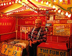 Glossary of 'carny' slang - Wikipedia, the free encyclopedia