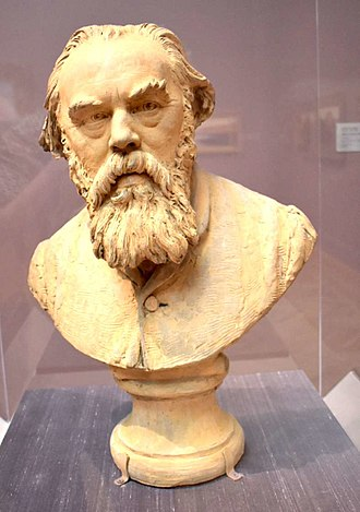Jules Dalou - Bust of Albert Ludovici, Sr., 1873, at the Palace of the Legion of Honor, San Francisco