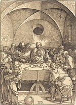 Albrecht Dürer, The Last Supper, 1510, NGA 601.jpg