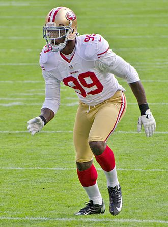 Aldon Smith - Smith with the San Francisco 49ers in 2012