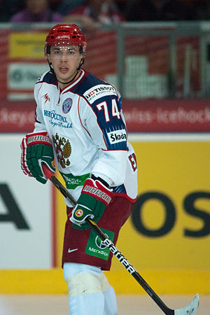 Alexei Emelin - Emelin playing for Russia in 2011.