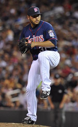 Alex Burnett - Burnett with the Minnesota Twins