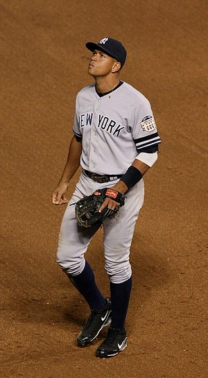 Mets–Yankees rivalry - Alex Rodriguez played for the Yankees (2004-2016), but grew up as a fan of the New York Mets.