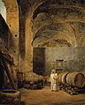 Alexander Lauréus - A Monk in a Ruin which Has Been Made into a Wine Cellar - A I 614 - Finnish National Gallery.jpg