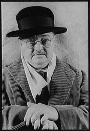 Alexander Woollcott - Woollcott in 1939 photographed by Carl Van Vechten