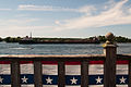Alexandria bay saint lawrence ship and flag 5.07.2012.jpg