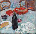 Alexej von Jawlensky Stilleben mit Weinflasche c1904.jpg