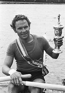 Alf Hansen Norwegian rower