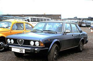 Alfa Romeo Alfa 6 - Alfa Romeo Alfa 6 first series (1979–1983)