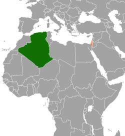 Algeria Location On World Map.Algeria Israel Relations Wikipedia
