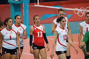 Algeria women's national volleyball team - Algeria women's national volleyball team at the 2012 Summer Olympics