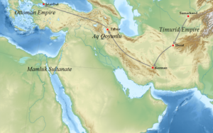 Ali Qushji - His travel to the Ottoman Empire.
