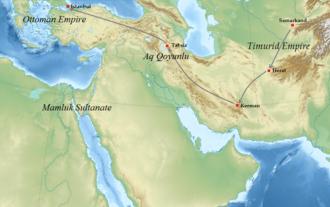 Ali Qushji - His travel to the Ottoman Empire.