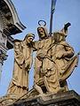 Alighieri, Giotto y Colón - Basílica de San Francisco, Buenos Aires.jpg