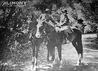 Alimony (1917 film) - Lobby card