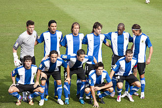 Hércules CF - First starting lineup of the season 2010–11, its last in La Liga, against Athletic Bilbao.