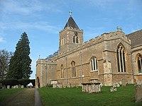 All Saints, Turvey, south aisle - geograph.org.uk - 1199817.jpg