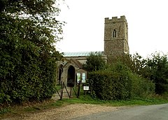 All Saints church, Barnardiston, Suffolk - geograph.org.uk - 240224.jpg