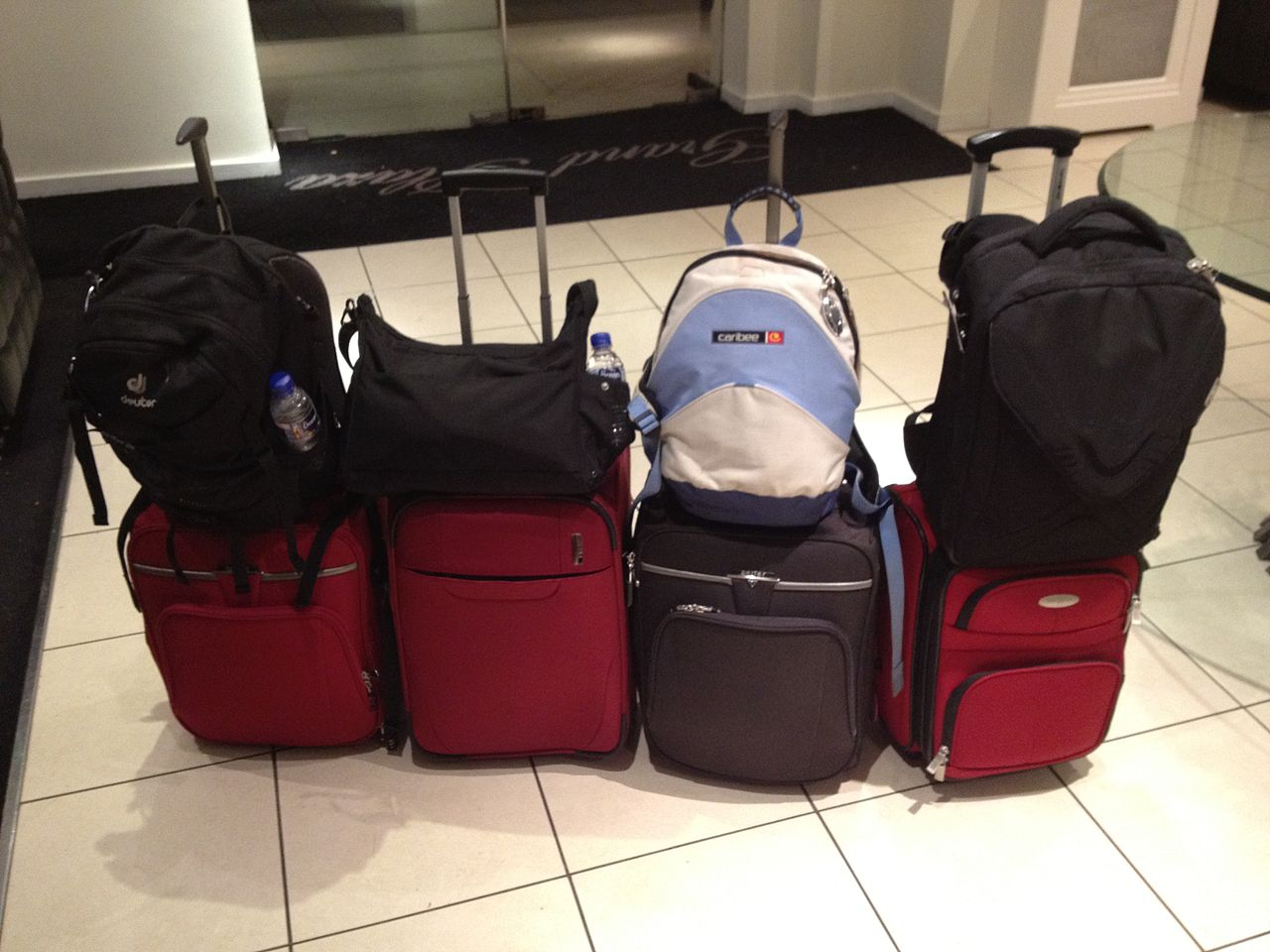 File All Our Luggage Jpg Wikimedia Commons