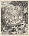 Allegorische voorstelling ter gelegenheid van het huwelijk van Abraham Barnaart en Engeltje van Hoven, RP-P-OB-57.094.jpg