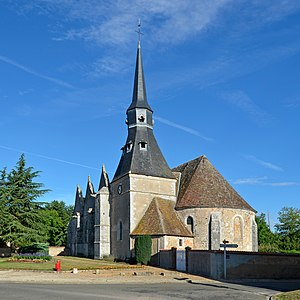 Alluyes - Image: Alluyes Eglise 01
