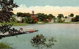 Newcastle, Maine - Damariscotta River c. 1920