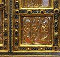 Altare di s. ambrogio, 824-859 ca., fronte dei maestri delle storie di cristo, 16 cacciata dei mercanti.jpg