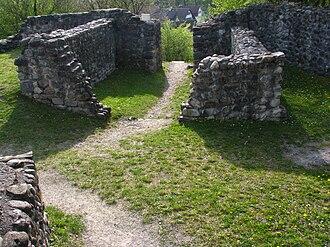 Regensberg family - Ruins of Alt-Regensberg