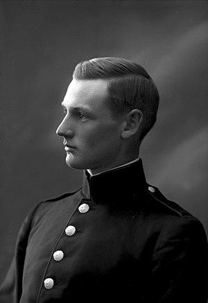 Alv Kjøs - Alv Kjøs in 1915 Photographer: Gustav Borgen
