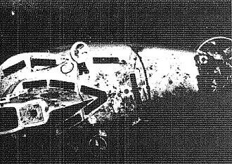 DSV Alvin - Image: Alvin after sinking
