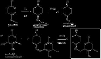 Ambroxol - Image: Ambroxol synthesis