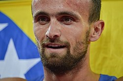 Amel Tuka, 2015 World Championships in Athletics Beijing.jpg