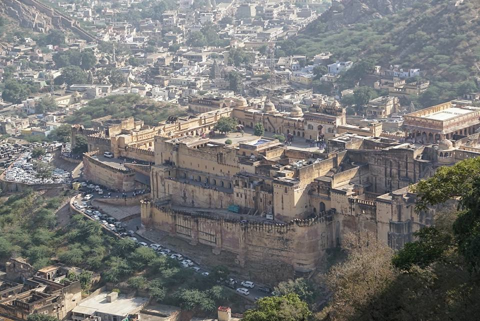 Amer Fort - Top View