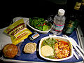 American Airlines.Airline meal.2005.jpg