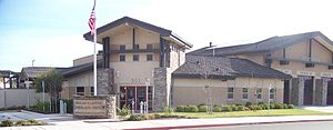 American Canyon, California - The American Canyon Public Safety Building, located at 911 Donaldson Way East, houses the police department and the fire department.