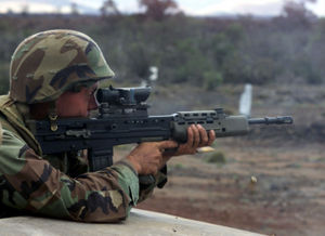 American soldier with L85 DM-SD-02-03075.JPEG