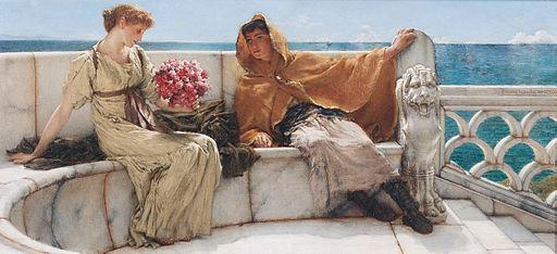 Amo te, ama me, by Lawrence Alma-Tadema